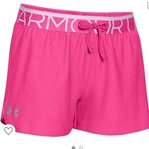 New Under Armour Girls Shorts